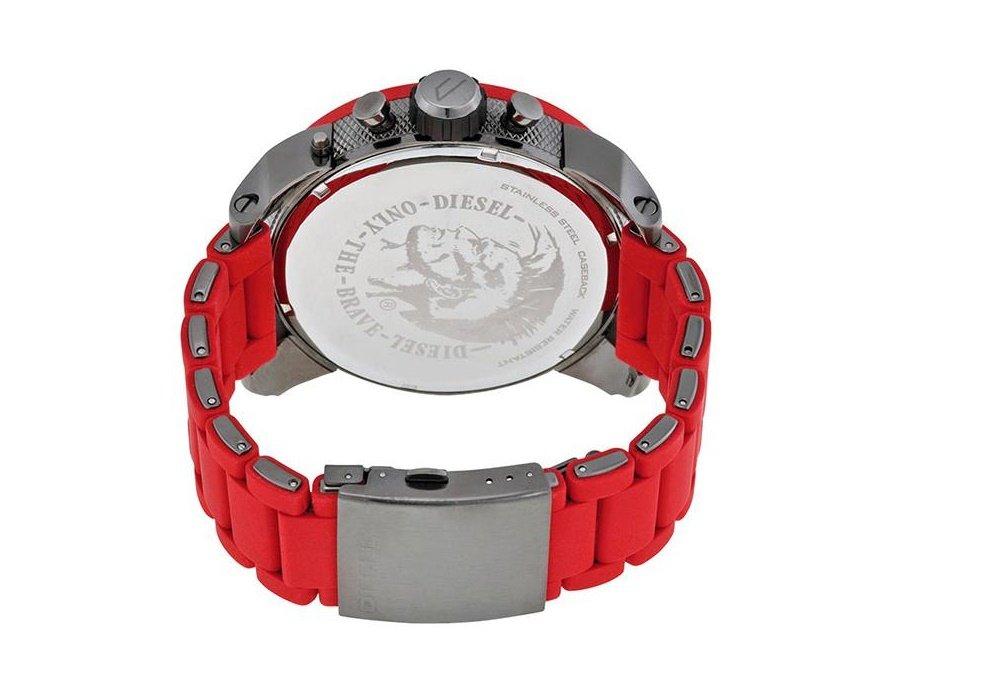 814384e9d052 Reloj hombre DIESEL DZ7279 Mister Daddy - Acero Rojo - 4 tiempos   Amazon.es  Deportes y aire libre