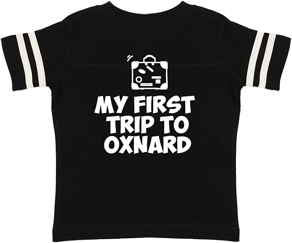 Toddler//Kids Sporty T-Shirt Mashed Clothing My First Trip to Oxnard