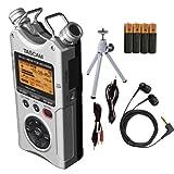 Tascam DR-40 Digital Audio Recorder Bundle