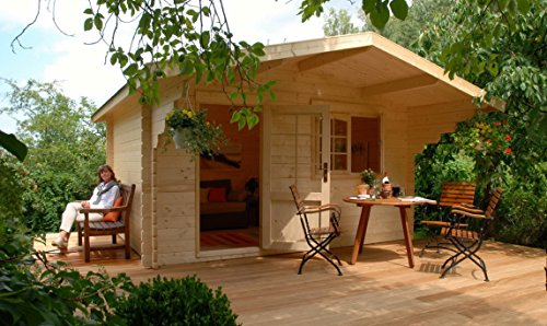 Allwood Kit Cabin Lillevilla Escape - Log Cabin Home Kits