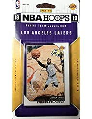 Los Angeles Lakers 2018 2019 Hoops Factory Sealed 11 Card Team Set with Moritz Wagner Rookie Card, Lebron James, Lonzo Ball, Kyle Kuzma Plus