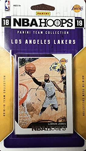 Top 10 Best Nba Hoops Basketball Cards 2018 2019 Lakers 2020