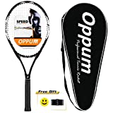 oppum 2019 New Technology T80 Tennis Racket 27.5″ Tennis Racquets Good Value for Beginner Professional – Strung with Cover