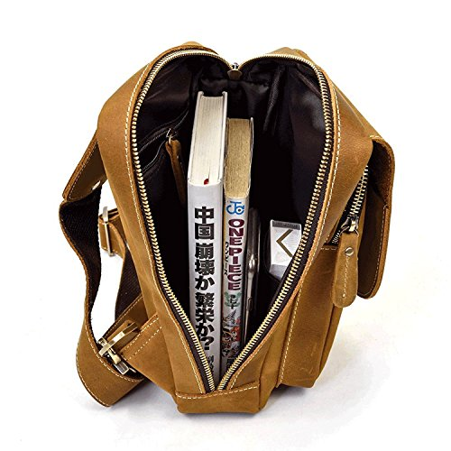 del del la del de la de Crossbody la pecho la del Bolso bolso bolso bolso honda la de del honda Light de honda hombres Brown Brown de honda del Light los de de bolso la genuino de bolso honda cuero del honda p7OpqXT