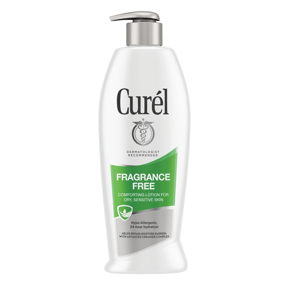 Curél Ultra Healing Body Lotion, Moisturizer for Extra Dry Skin, Body and Hand Lotion with Advanced Ceramide Complex and Hydrating Agents, for Tight Skin, 20 Ounce