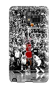 Fashion Protective Michael Jordan Basketball Nba Chicago Bulls Case Cover For Galaxy Note 3