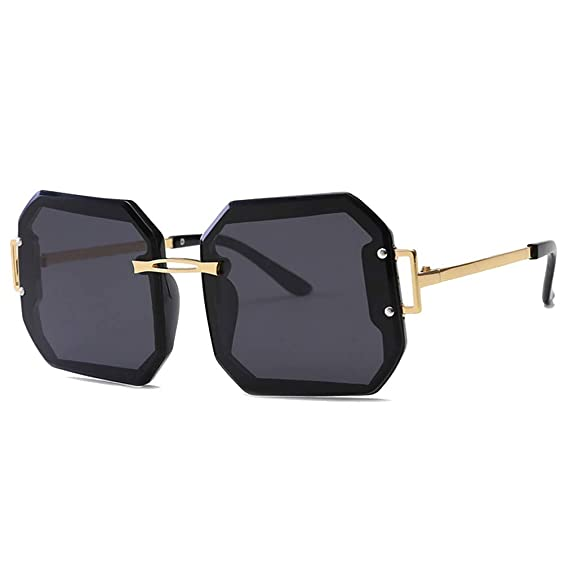 MEIHAOWEI Polarizado Moda sin montura Tendencia Gafas de sol ...