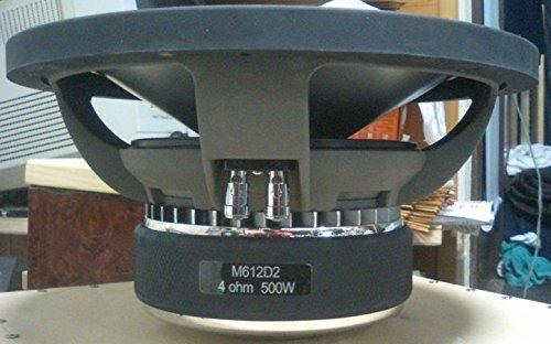 Diamond M612D2 M6 12-Inch 600 Watts RMS Dual 2 Ohm Subwoofer 1200W Max