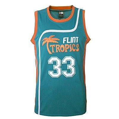 "MOLPE Men's Moon 33"" Flint Tropics Basketball Jersey S-XXXL Green"