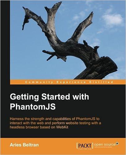PhamtomJs Beginners