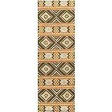 Surya Albuquerque ALQ-403 Hand Tufted 100-Percent Wool Southwest Runner Rug, 2-Feet 6-Inch by 8-Feet