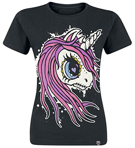 Cupcake Cult PONY TAIL Einhorn Comic Creepy Motiv T-Shirt