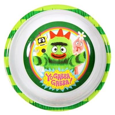 Yo Gabba Gabba Bowl by Zak! Brobee: Toys & Games
