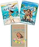 【Amazon.co.jp限定】 モアナと伝説の海 MovieNEXプラス3D:オンライン予約限定商品 [ブルーレイ3D+ブルーレイ+DVD+デジタルコピー(クラウド対応)+MovieNEXワールド] (オリジナルB6リングノート付) [Blu-ray]