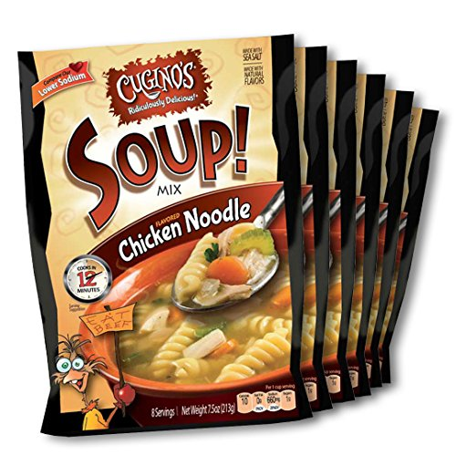 Cugino's Chicken Noodle Soup Mix, 6-Pack - Add Chicken Soup