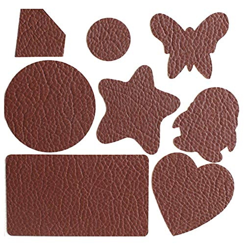 Ladeyi Repair Patch Self-Adhesive Car Seat Repair Subsidy Leather Seat Sofa Smoke Hole Leather Scissorless Repair Subsidy Patch Leather and Vinyl Repair Kit - Furniture (OPP Bag)