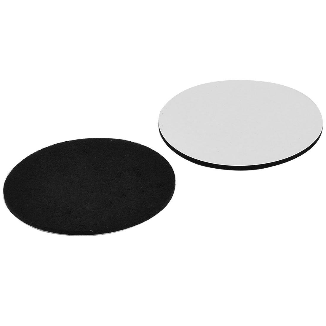 Sourcingmap/® Bodenm/öbel Filz Runde Anti-Rutsch Abdeckung Sch/ützerpolster Grau 85 mm /Ø 4 STK de