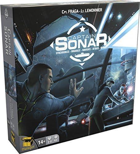 Captain Sonar : Synchroniser Organiser Naviguer Attaquer Réparer | Fraga, Roberto. Auteur