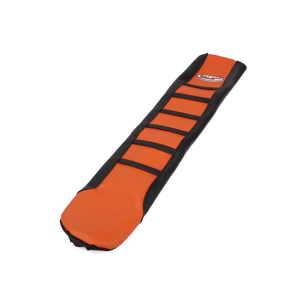 JFGRACING Copri sedili per moto morbido nero//arancione per KTM 65 85 105 125 144 150 200 250 300 450 500 530 XC EXC SX SXF 07-14