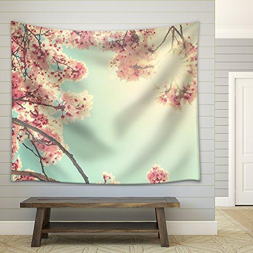 Spring Blossom Fabric Wall
