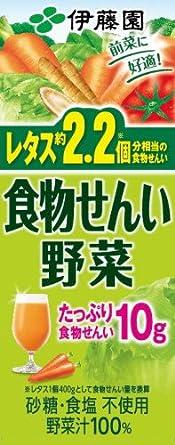 食物 野菜 繊維 ジュース