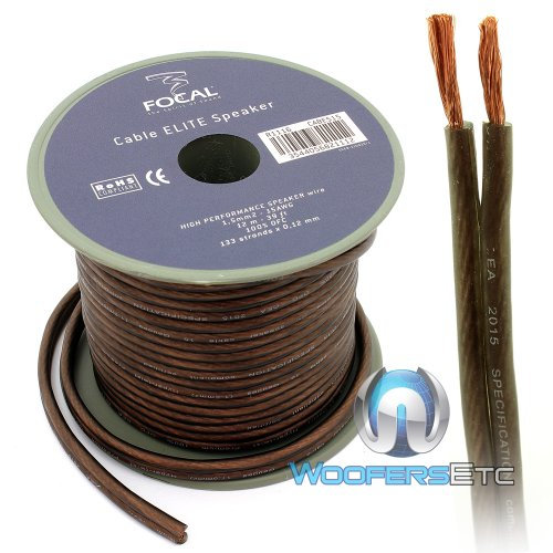 ES15 - Focal Audio 12 M (39.37 Feet) Elite Series Speaker Cable for Utopia and K2 Power - Power K2 Focal