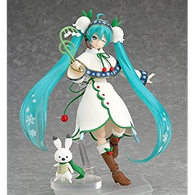 Good Smile Snow Miku: Snow Bell ver. Figma Action Figure: Toys & Games