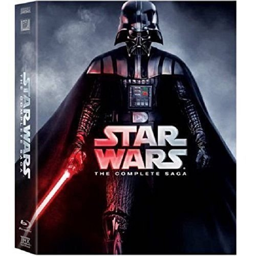 Star Wars: The Complete Saga DVD (I,II,III,IV, V, VI, 12-Disc Box Set 1-6) -