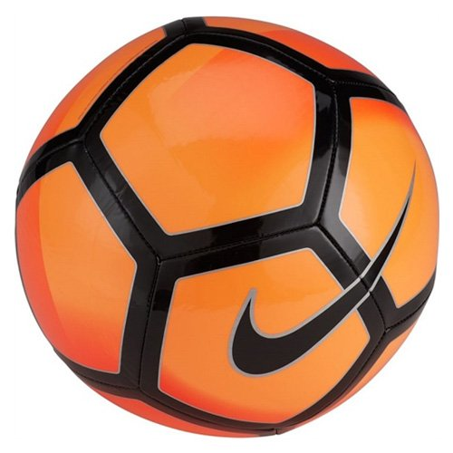 Nike Unisex Pitch Soccer Ball, Bright Citrus/Total Orange/Black/Black, 4