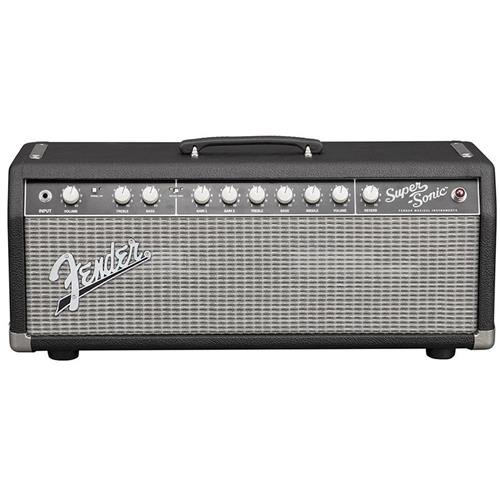Fender Super-Sonic 22 Amplifier Head - Black/Silver