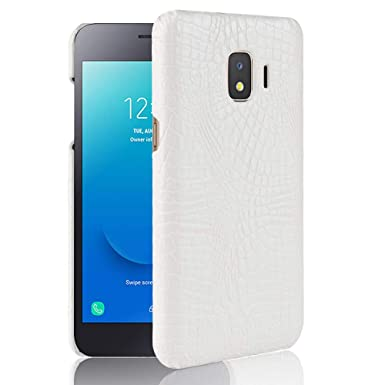 SPAK Samsung Galaxy J2 Core Case, Crocodile Pattern Hard
