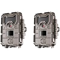 Bushnell 20MP Trophy Cam HD Aggressor No-Glow Trail Camera, Records 1080p Video with Sound (2-Pack)