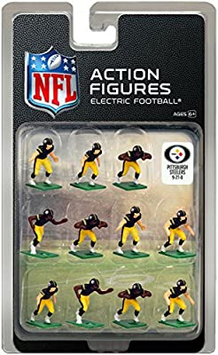 Pittsburgh SteelersHome Jersey NFL Action Figure Set