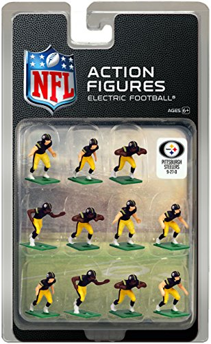 Action Football (Pittsburgh Steelers Home Jersey NFL Action Figure Set)