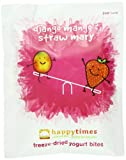 Happy Times Organic Mixed Fruit Yogis Snacks, 1.5 oz cartons (Pack of 6)
