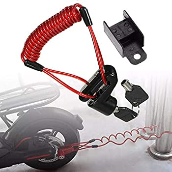 Anti-theft Wheel Disc Brake Lock Security Motorcycle Scooter Bicycle T0R9
