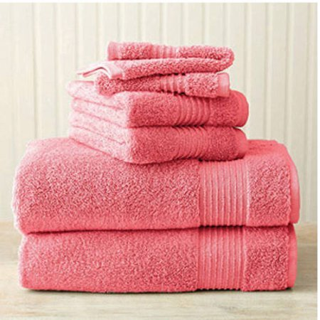 Better Homes and Gardens Extra Absorbent Bath Towel, 4 Piece