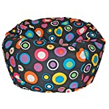 Ahh! Products Bubbly Jelly Bean Washable Kid Bean Bag Chair