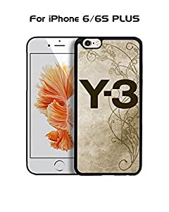 IPhone 6 6s Plus (5.5 inch) Funda Case Brand Logo Y-3 Protector Dust Proof Solid Impact Resistant Anti Slip Funda Case Cover