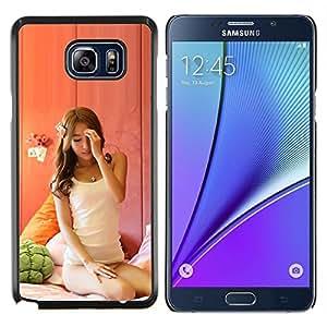 EJOOY---Cubierta de la caja de protección para la piel dura ** Samsung Galaxy Note 5 5th N9200 ** --Belleza sexy Janpanese Asain
