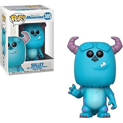 Sulley: Monster Inc. x Funko POP! Disney Vinyl Figure & 1 POP! Compatible PET Plastic Graphical Protector Bundle [#385 / 29391 - -