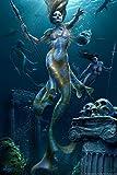 """Mermaids by Tom Wood 22""""x34"""" Art Print Poster"""