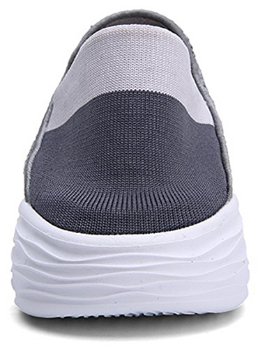Slip 45 on Sneakers Damen Halbschuhe JOOMRA Grau 35 YwZqUp5
