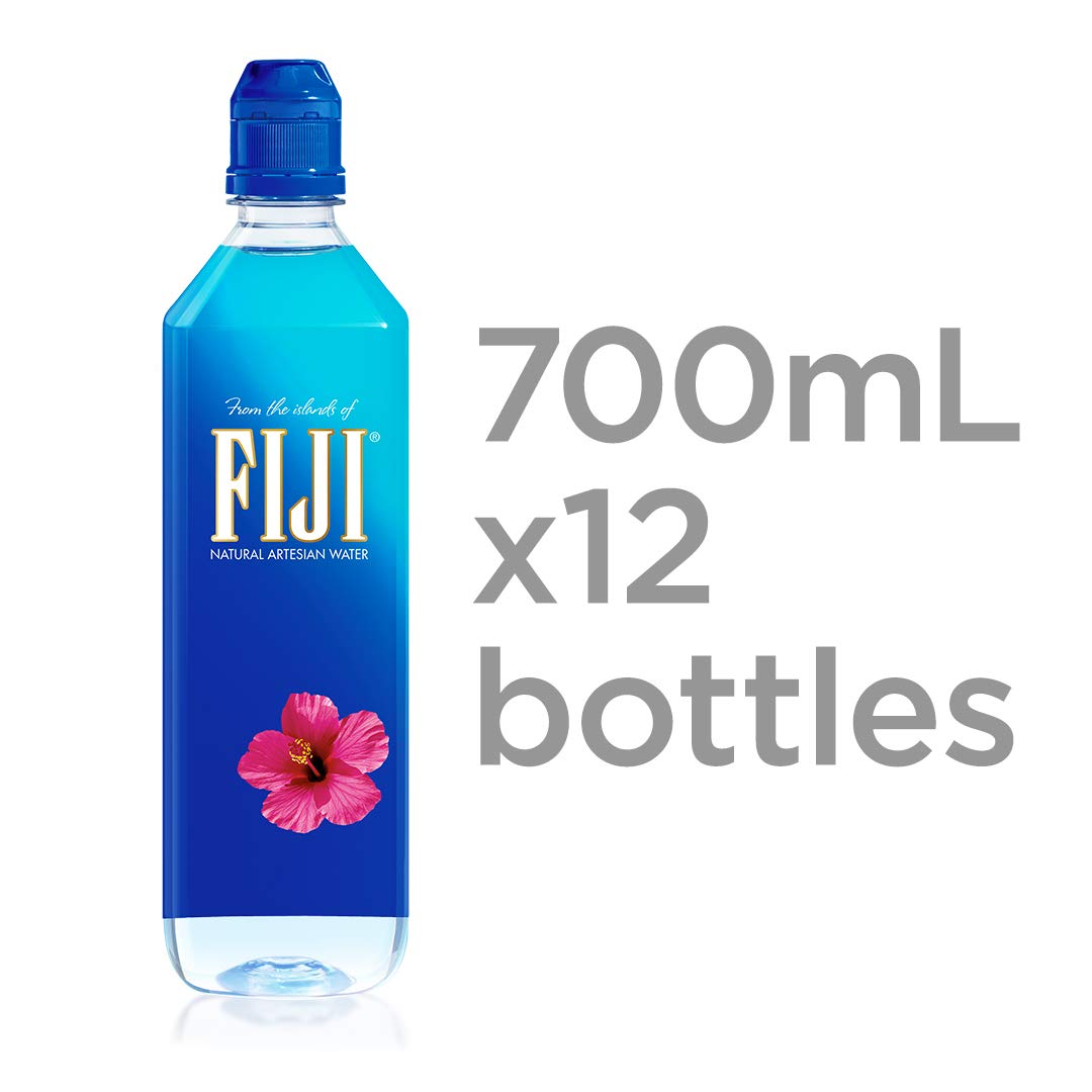 Fiji Natural Artesian Water 700ml Sports Cap Bottle Pack Of 12