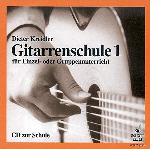 Gitarrenschule: für Einzel- oder Gruppenunterricht. Band 1. CD.