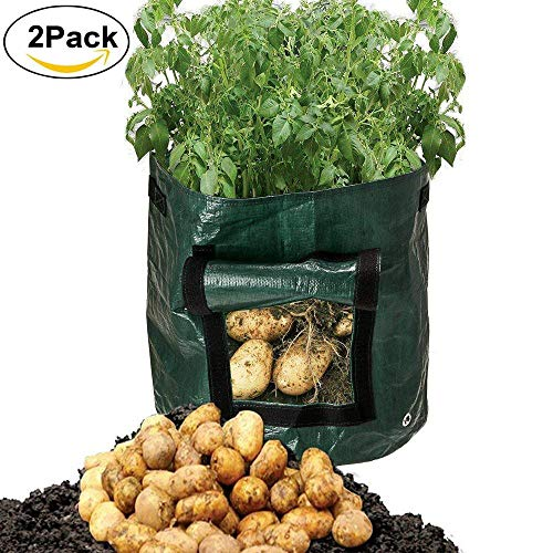 Mofvg Grow Bags, Raised Garden Bed|Plant Containers|Fabric Pots|Planter Bag from by Mofvg