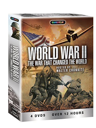 VHS : World War II: The War That Changed the World 4 pk.