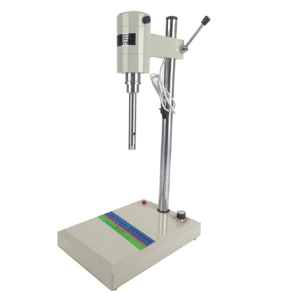 MXBAOHENG FJ200 Lab Electric Mixer High Speed Disperser Homogenizer Φ 12 mm Φ 18 mm Working Heads 2-800ml