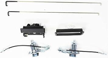 Tailgate Lock for Chevrolet C//K Full Size P//U 88-98 Set Stepside