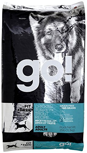 Petcurean 152408 Go Fit Plus Free Grain Free Adult For Dog, 25-Pound